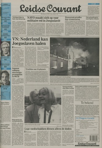 Leidse Courant 1992-08-11