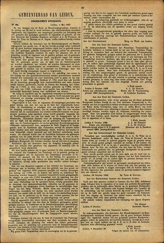 Handelingen van de Raad 1887-05-05