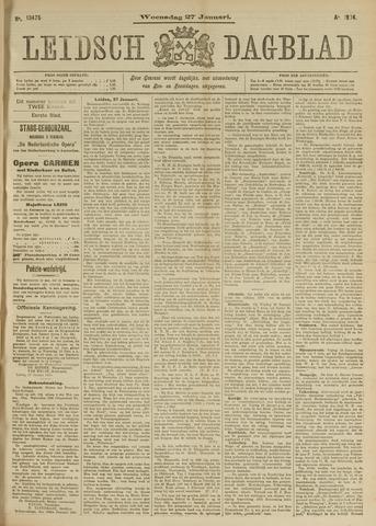 Leidsch Dagblad 1904-01-27