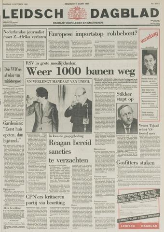 Leidsch Dagblad 1982-10-19