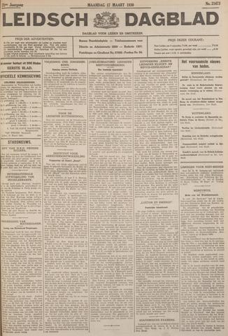 Leidsch Dagblad 1930-03-17
