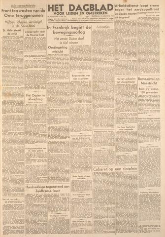 Dagblad voor Leiden en Omstreken 1944-08-19