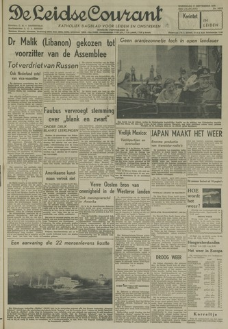 Leidse Courant 1958-09-17