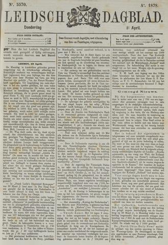 Leidsch Dagblad 1878-04-11