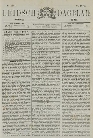 Leidsch Dagblad 1875-07-28