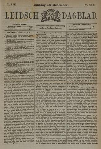 Leidsch Dagblad 1880-12-14