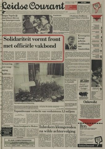 Leidse Courant 1988-11-03