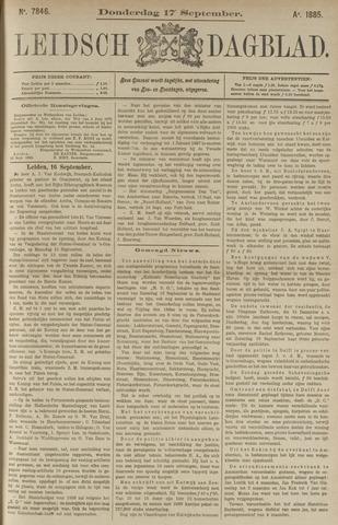 Leidsch Dagblad 1885-09-17