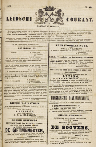 Leydse Courant 1873-02-17