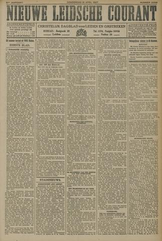 Nieuwe Leidsche Courant 1927-04-21