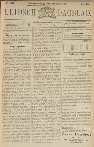 Leidsch Dagblad 1885-12-30