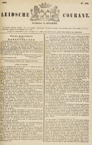 Leydse Courant 1883-09-29