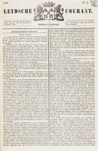 Leydse Courant 1869-01-08