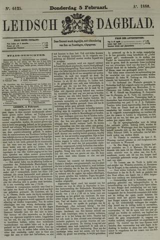 Leidsch Dagblad 1880-02-05