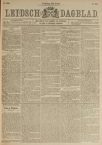 Leidsch Dagblad 1901-06-28