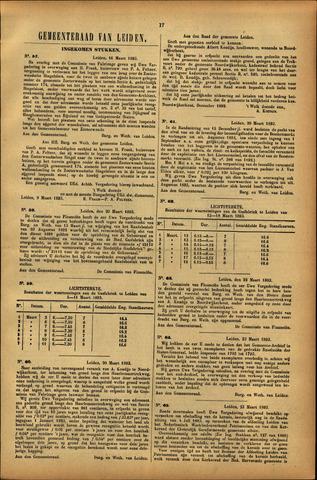 Handelingen van de Raad 1893-03-16