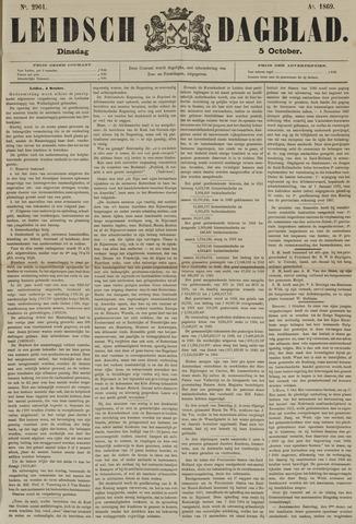 Leidsch Dagblad 1869-10-05