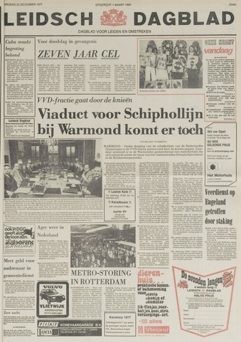 Leidsch Dagblad 1977-12-23