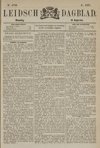 Leidsch Dagblad 1875-08-16