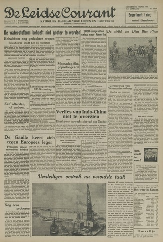 Leidse Courant 1954-04-08