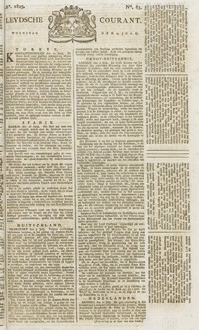Leydse Courant 1825-07-13