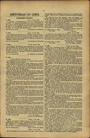 Handelingen van de Raad 1886-06-19