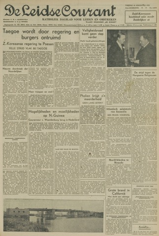 Leidse Courant 1950-08-18