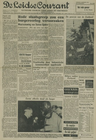 Leidse Courant 1958-01-03