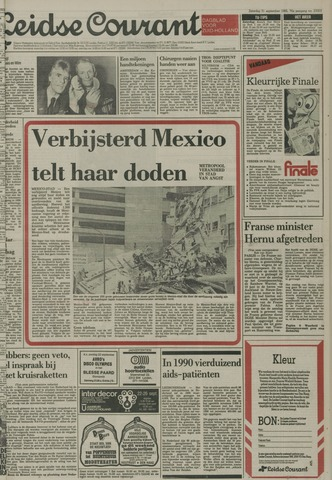 Leidse Courant 1985-09-21