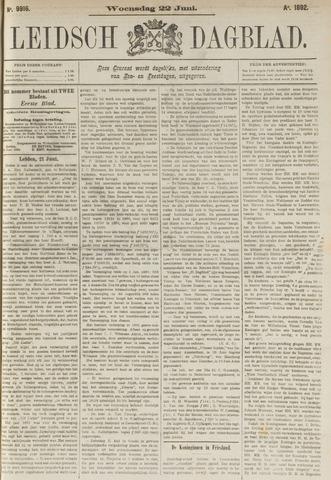 Leidsch Dagblad 1892-06-22
