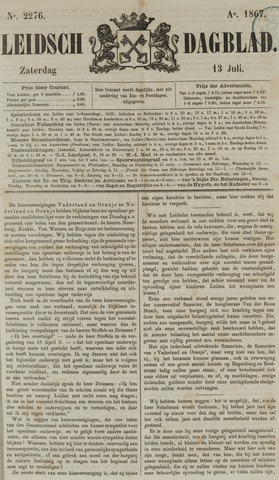 Leidsch Dagblad 1867-07-13
