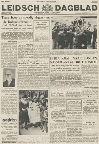 Leidsch Dagblad 1956-08-08