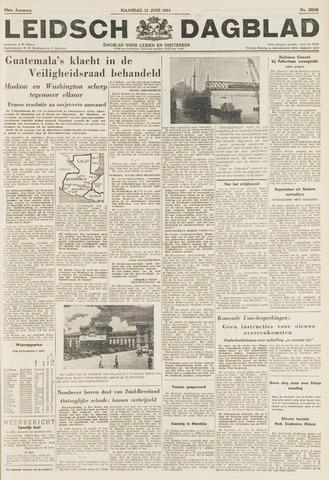 Leidsch Dagblad 1954-06-21