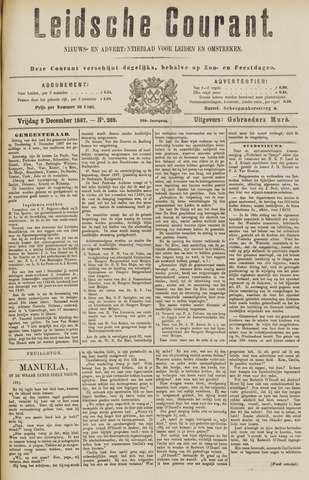 Leydse Courant 1887-12-09