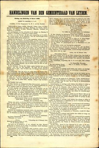 Handelingen van de Raad 1866-03-03