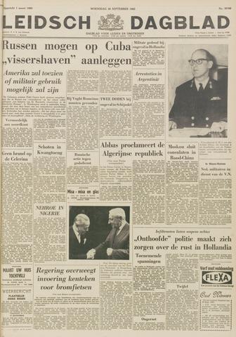 Leidsch Dagblad 1962-09-26