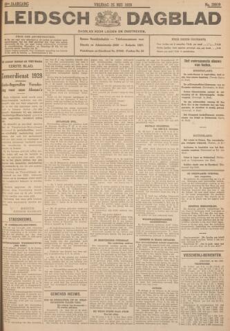 Leidsch Dagblad 1928-05-25