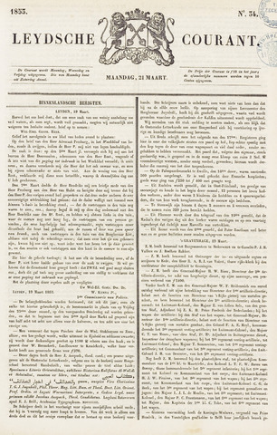 Leydse Courant 1853-03-21
