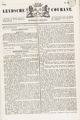 Leydse Courant 1865-08-02