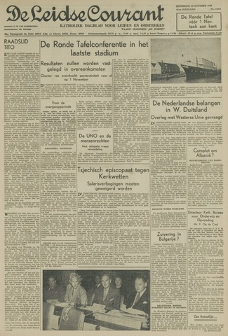 Leidse Courant 1949-10-22