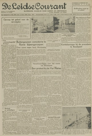 Leidse Courant 1949-02-10
