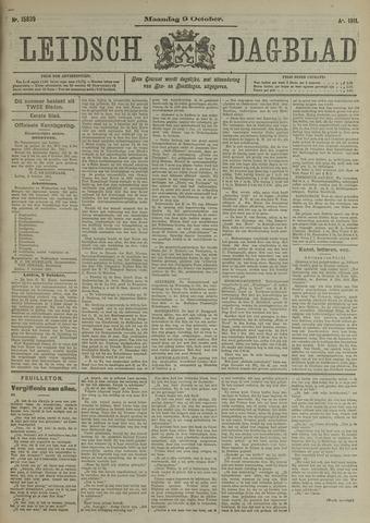 Leidsch Dagblad 1911-10-09