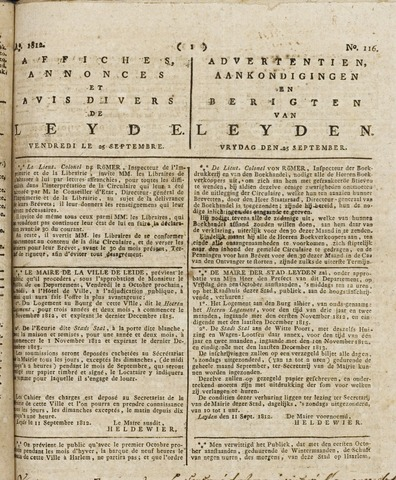 Leydse Courant 1812-09-25