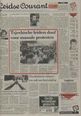 Leidse Courant 1989-11-21