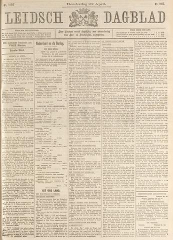 Leidsch Dagblad 1915-04-22