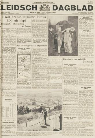 Leidsch Dagblad 1954-01-14