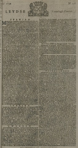 Leydse Courant 1739-09-30