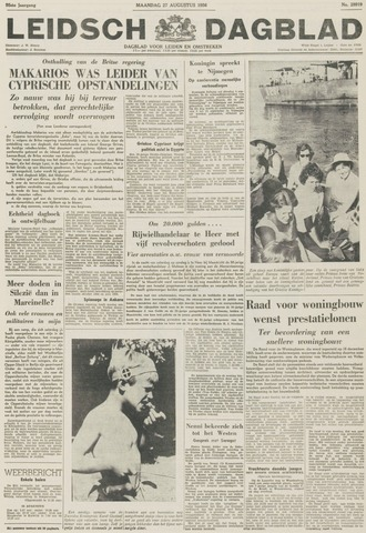 Leidsch Dagblad 1956-08-27