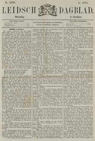Leidsch Dagblad 1873-10-06