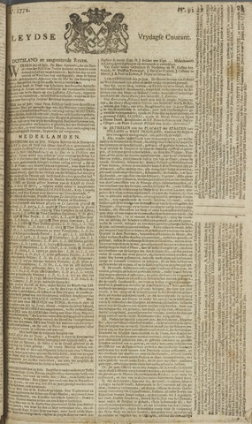 Leydse Courant 1772-07-31